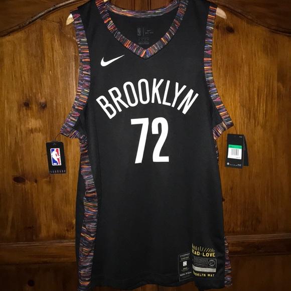 brand new f3d8d a5927 Nike The Brooklyn Way BIGGIE 72 Nets Jersey SZ XL NWT